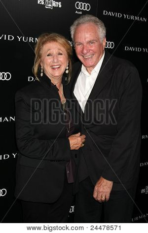 LOS ANGELES - OCT 18:  Sybil & David Yurman arriving at the PS Arts 20th Anniversary Event at the Sunset Tower Hotel on October 18, 2011 in West Hollywood, CA