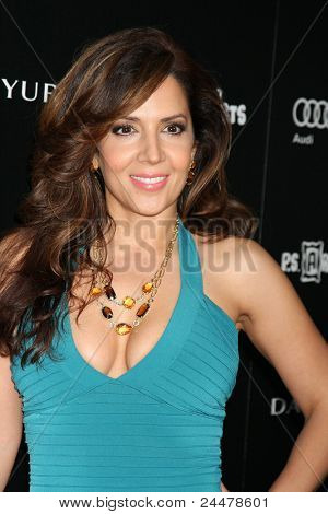 LOS ANGELES - OCT 18:  Maria Canals-Barreras arriving at the PS Arts 20th Anniversary Event at the Sunset Tower Hotel on October 18, 2011 in West Hollywood, CA