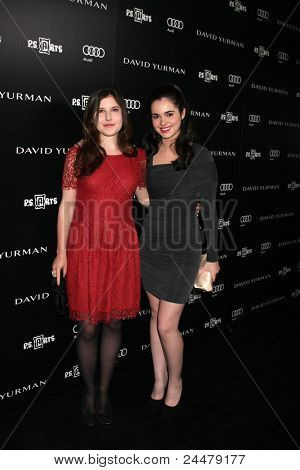 LOS ANGELES - OCT 18:  Melissa Farman, Vanessa Marano arriving at the PS Arts 20th Anniversary Event at the Sunset Tower Hotel on October 18, 2011 in West Hollywood, CA