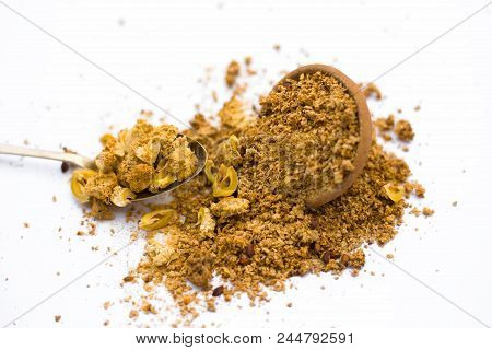 Dried Powder Of Amla Or Indian Gooseberry Or Phyllanthus Emblica