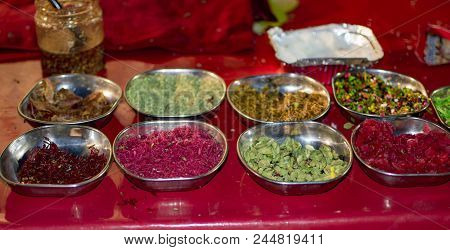 Ingredients For Paan Masala Sweets In Plates For Sale