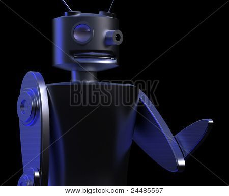 Robot - detective