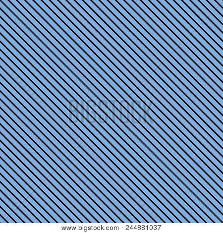 Tile Blue Stripes Vector Pattern For Seamless Decoration Background Wallpaper