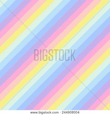 Geometric Striped Background, Pastel Rainbow Spectrum Colors. Lgbtq Colors. Abstract Geometric Strip