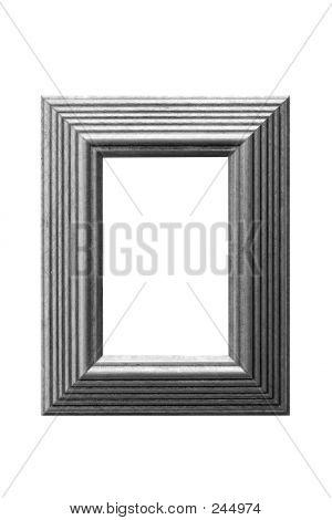 Gold Leaf Frame Bw
