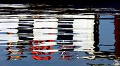 Abstract water reflections suitable to use it as water background poster