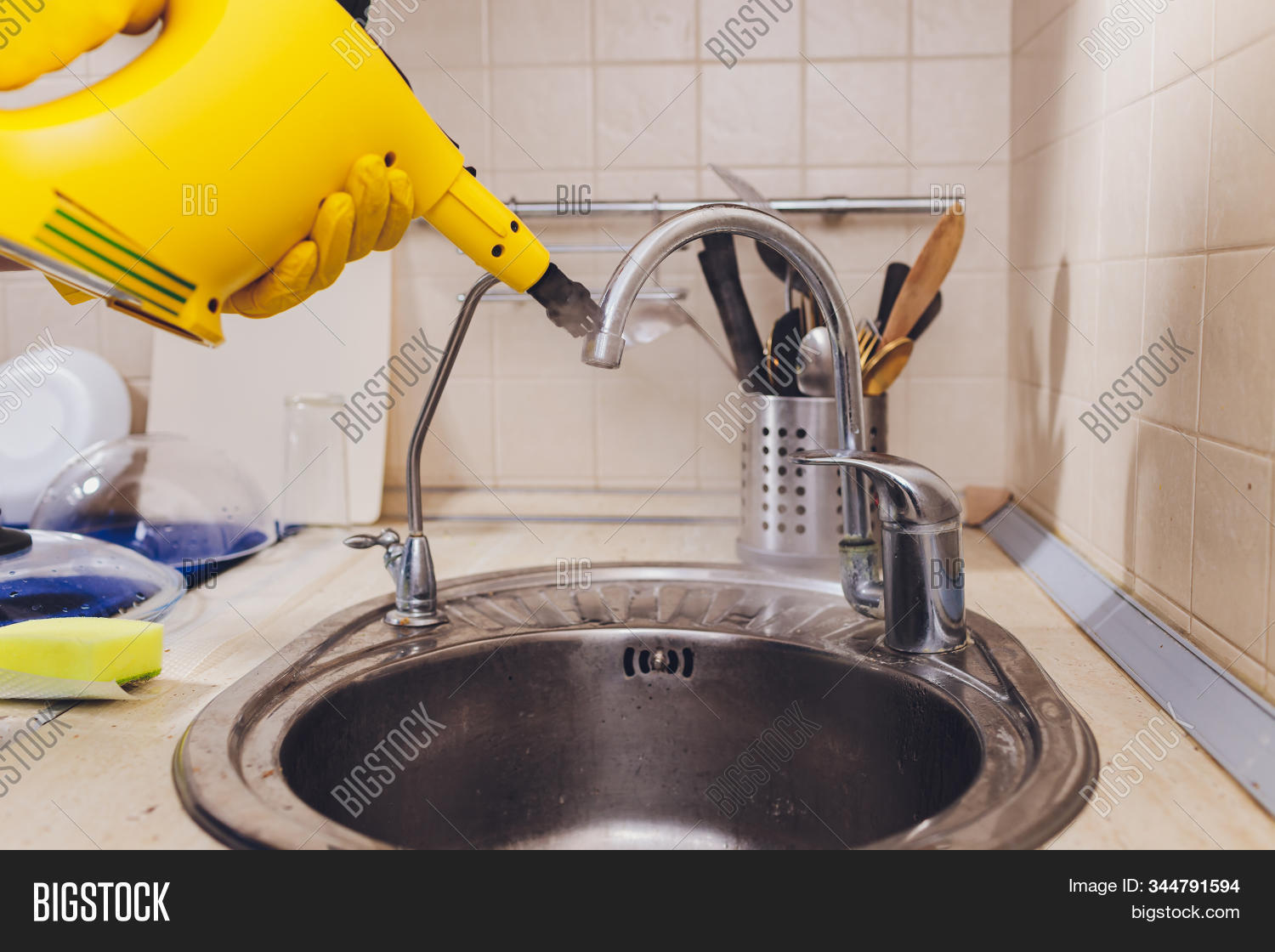 Water Tap Detail Image Photo Free Trial Bigstock