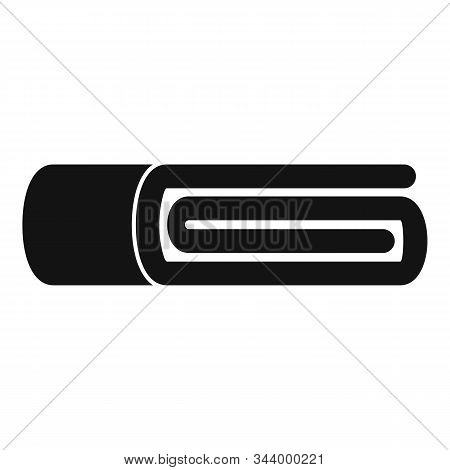Fabric Blanket Icon. Simple Illustration Of Fabric Blanket Vector Icon For Web Design Isolated On Wh