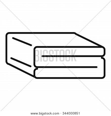 Comfort Blanket Icon. Outline Comfort Blanket Vector Icon For Web Design Isolated On White Backgroun