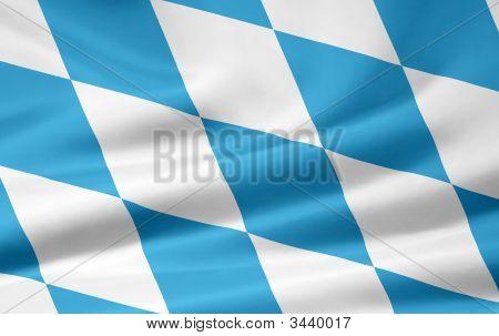 Very large version of the bavarian flag poster