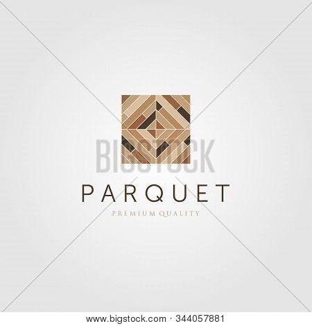 Floor Parquet Wood Minimalist Flooring Vinyl Hardwood Logo Design