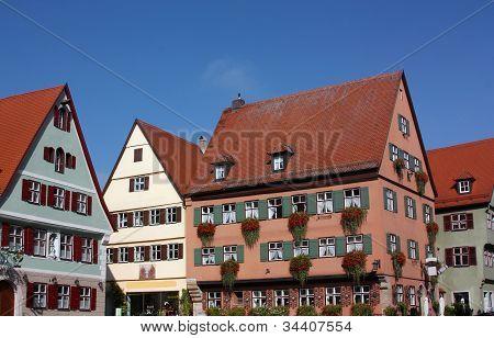 Dinkelsbuhl,bavaria,germany