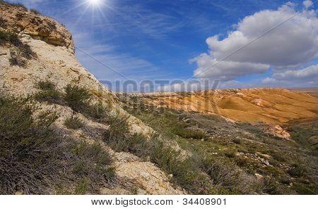 Slopes Of Plateau Ustyurt