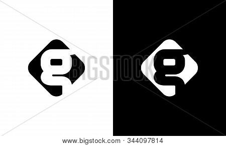 Initial Square Letter G Logo With Modern Typography Vector Template. Creative Abstract Letter G Logo