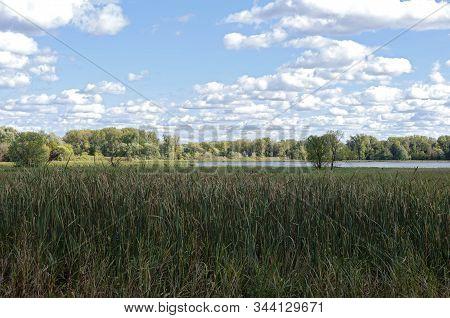 Hogback Ridge Ponds Area Of Minnesota Valley National Wildlife Refuge In Bloomington Minnesota