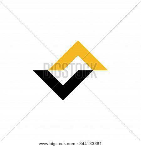 Va Initials Logo Vector Abstract Premium Design