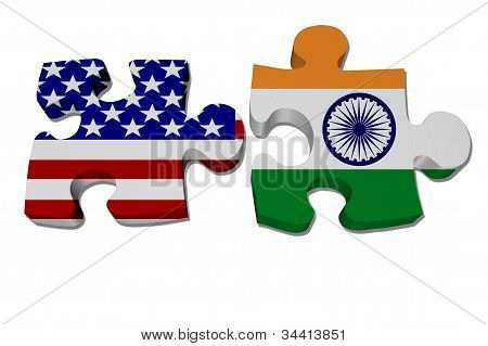 Us Working With India