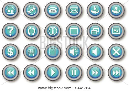 Computer Web Icons