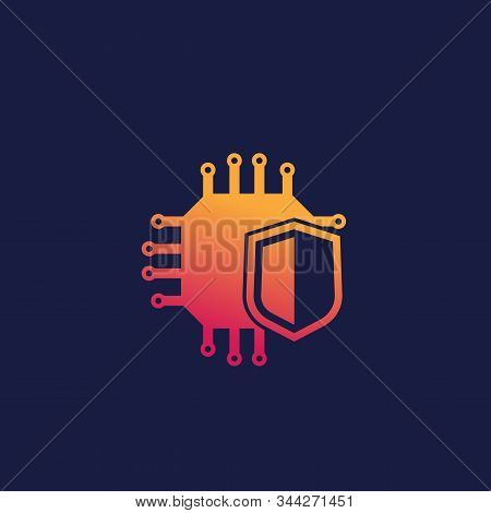 Cryptography And Encryption Icon, Eps 10 File, Easy To Edit