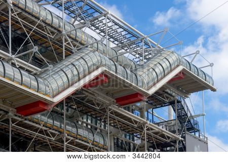 Stairs Centre Pompidou