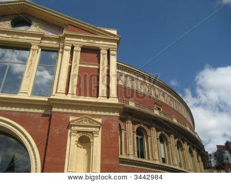 Royal Albert Hall Against Sky