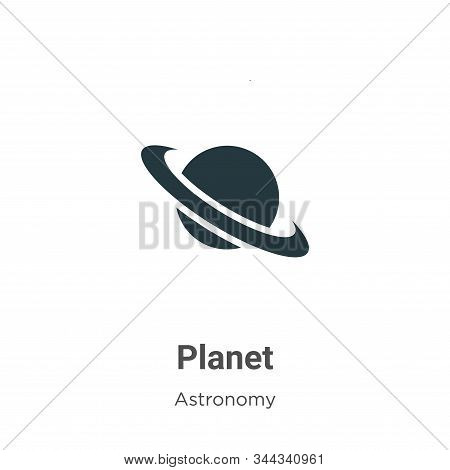 Planet icon isolated on white background from astronomy collection. Planet icon trendy and modern Pl