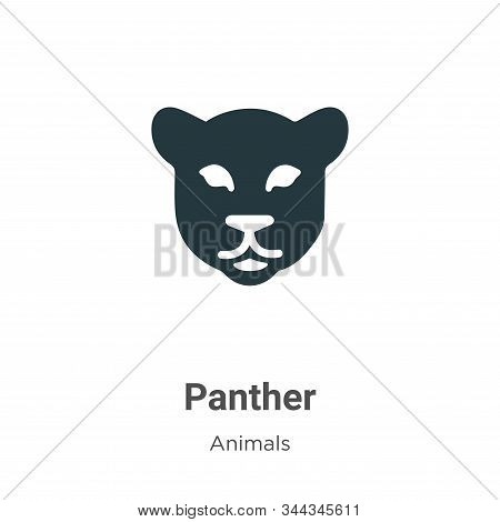 Panther icon isolated on white background from animals collection. Panther icon trendy and modern Pa