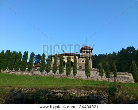 Cantacuzino Castle at Busteni, Romania