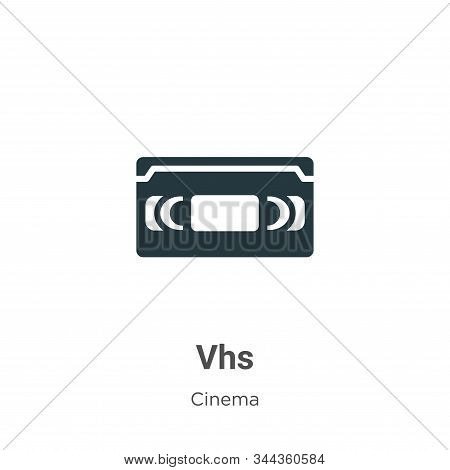 Vhs icon isolated on white background from cinema collection. Vhs icon trendy and modern Vhs symbol