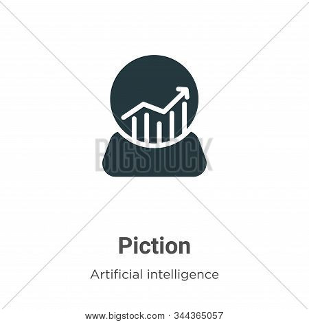 Prediction icon isolated on white background from artificial intelligence collection. Prediction ico