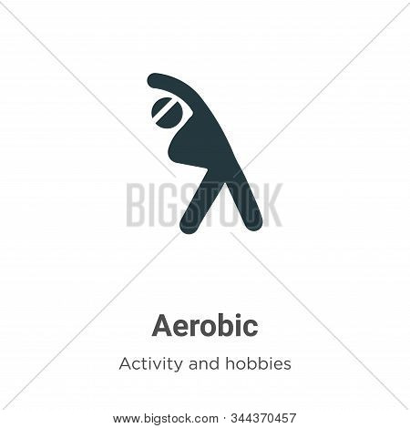 Aerobic icon isolated on white background from activities collection. Aerobic icon trendy and modern