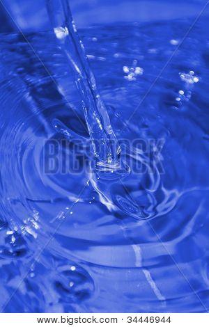 Flowing Fresh Clean Water