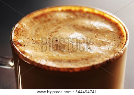 Fresh Made Coffee Served In Cup