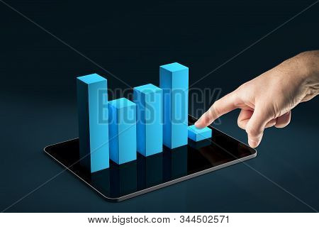 Costs Reduction App Concept, Costs Cut, Costs Optimization Business Concept. Businessman Press Costs