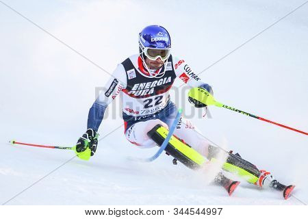 Zagreb, Croatia - January 5, 2020 : Jean-baptiste Grange From France Competing During The Audi Fis A