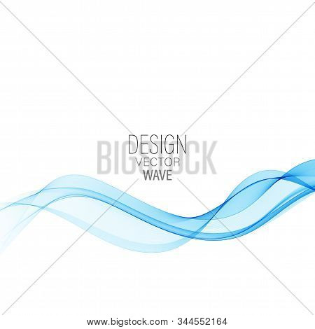 Blue Abstract Wave Abstract Vector Background Wave