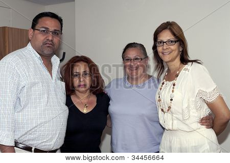 Mayor Of Guanica Puerto Rico Martín Vargas Morales And Family Of Yomo Toro