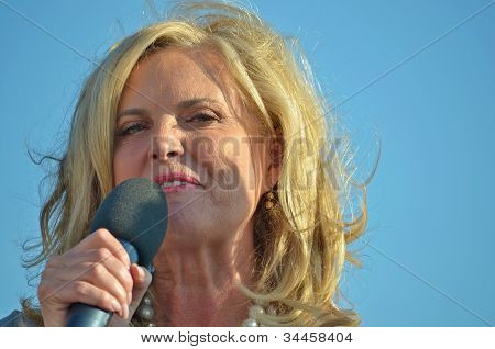 Ann Romney campaigning