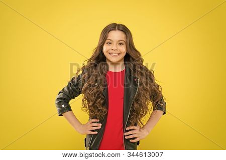 Her Hair Radiates Health. Protect Hair From Wind Damage. Strong Persistent Winds Can Create Tangles