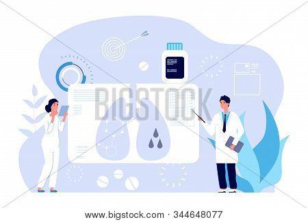 Pulmonology Concept. Respiratory Illness Diagnostics, Lung Problem. Pulmonologist Healthcare Check,