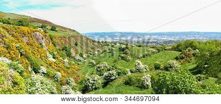 Belfast Cave Hill Landscape