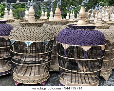Beautyfull Bird Cage Made From Special Bamboo