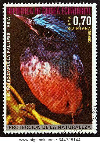 Equatorial Guinea - Circa 1976: A Stamp Printed In Equatorial Guinea From The