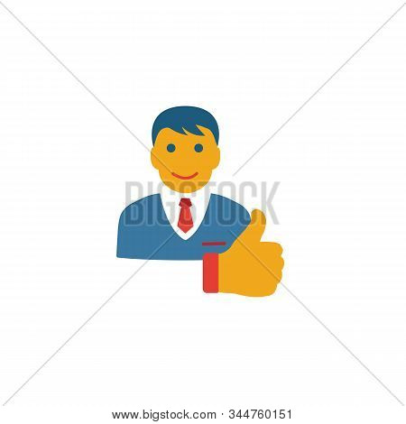 Customer Experience Icon. Simple Flat Element From Customer Service Collection. Creative Customer Ex