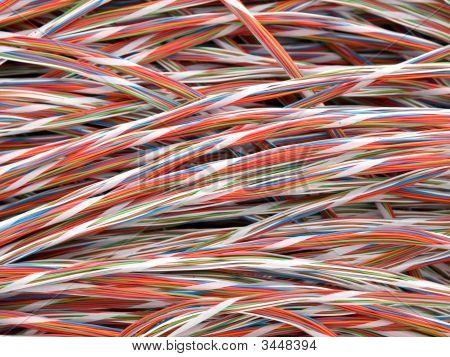 Twisted Copper Wires
