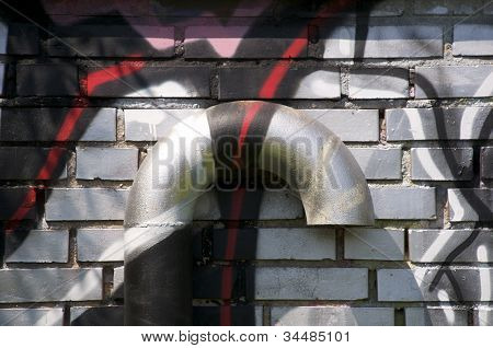 Ventilation with graffiti