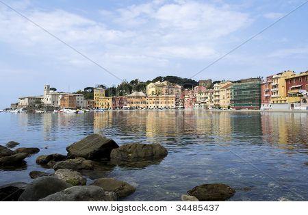 Silence bay in Sestri Levante