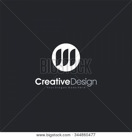 Letter M Logo Icon Design Abstract Logo Template Design Vector, Emblem, Design Concept, Creative Sym
