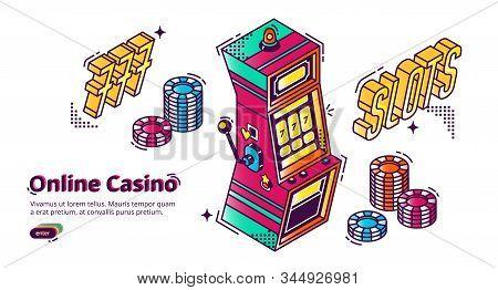Online Casino Vector Photo Free Trial Bigstock