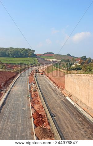 New Road Bypass Dual Carriageway Under Construction